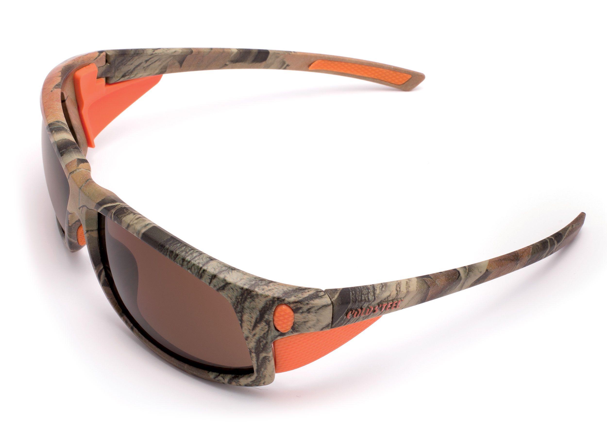 Cold Steel EW12 Battle Shades Mark-I Eyewear, Camo Sunglasses