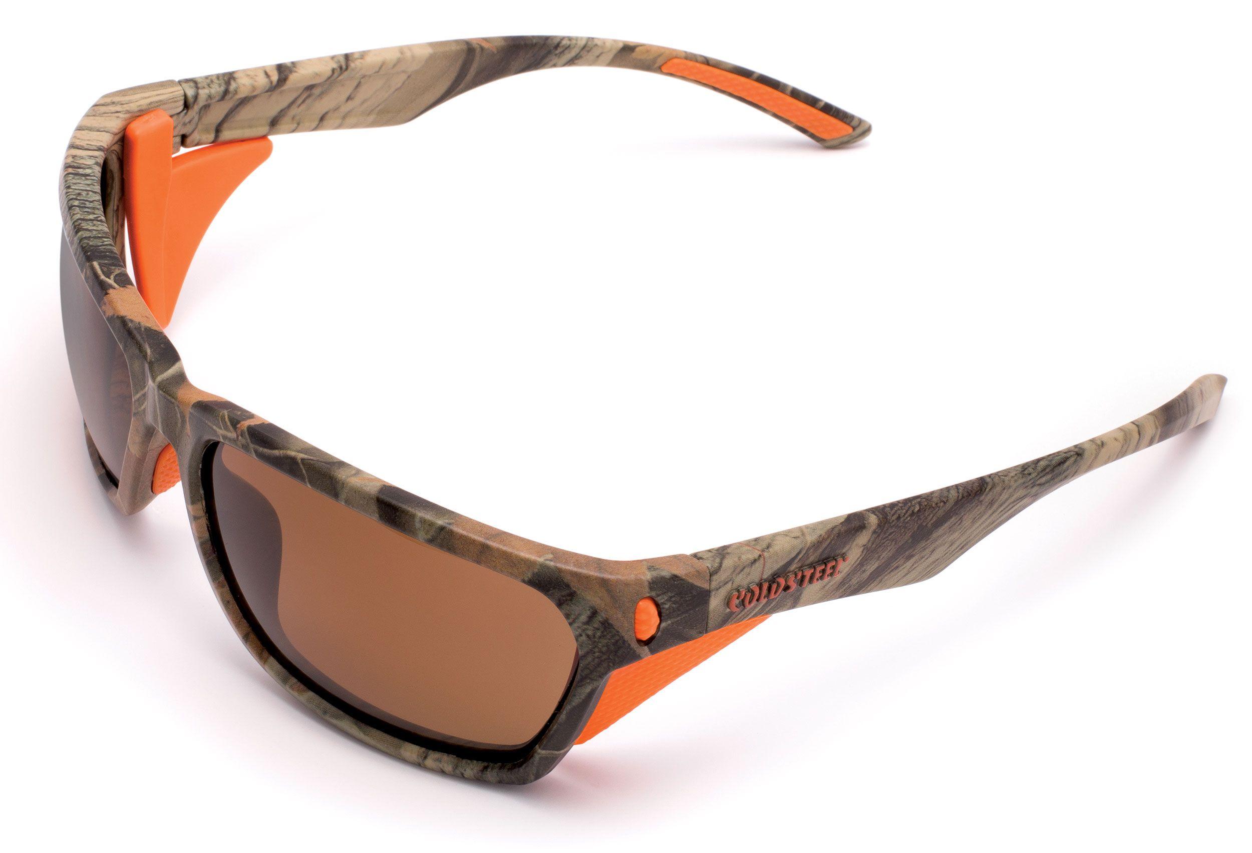 Cold Steel EW32P Battle Shades Mark-III Eyewear, Polarized, Camo Sunglasses
