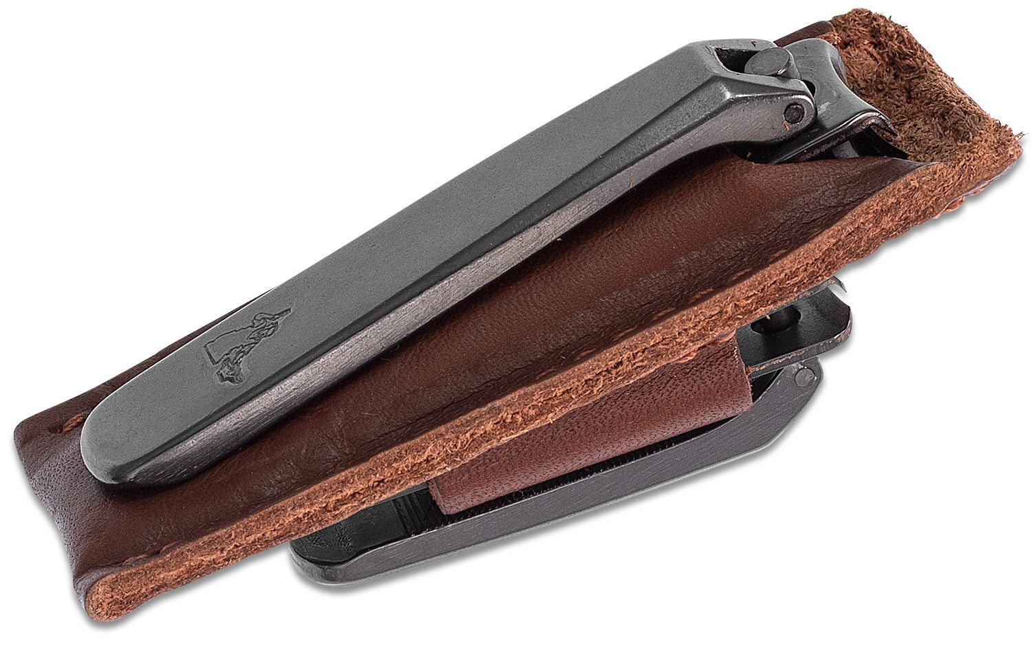 Concord Executive Nail and Toe Clipper Set, Brown Leather Case