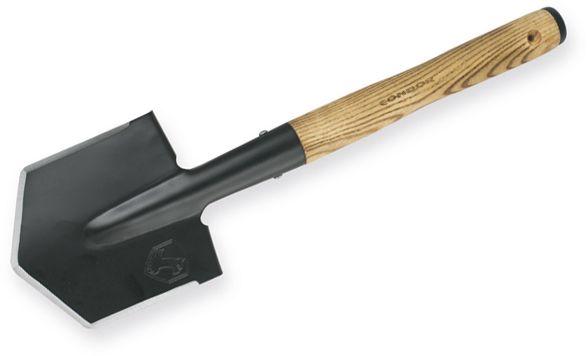 Condor Tool & Knife CTK2818 Wilderness Survival Shovel, Canvas Sheath