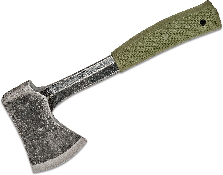 Condor Tool & Knife CTK3933-4.24HC Campsite Axe 2.99 inch 1075 Carbon Steel Blade, Army Green Polypropylene Handles, Kydex Sheath