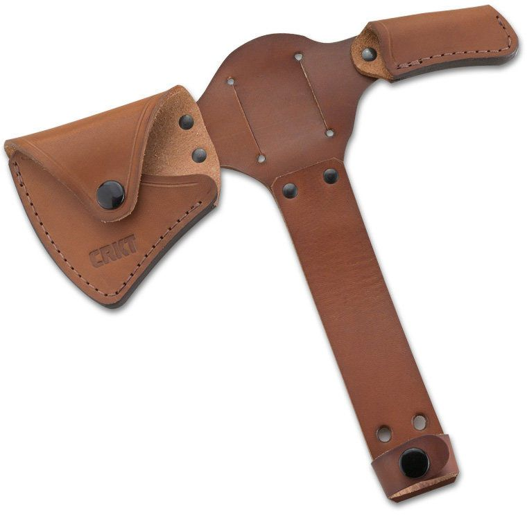 Columbia River CRKT D2735 RMJ Woods Kangee T-Hawk Leather Sheath (Axe Not Included)
