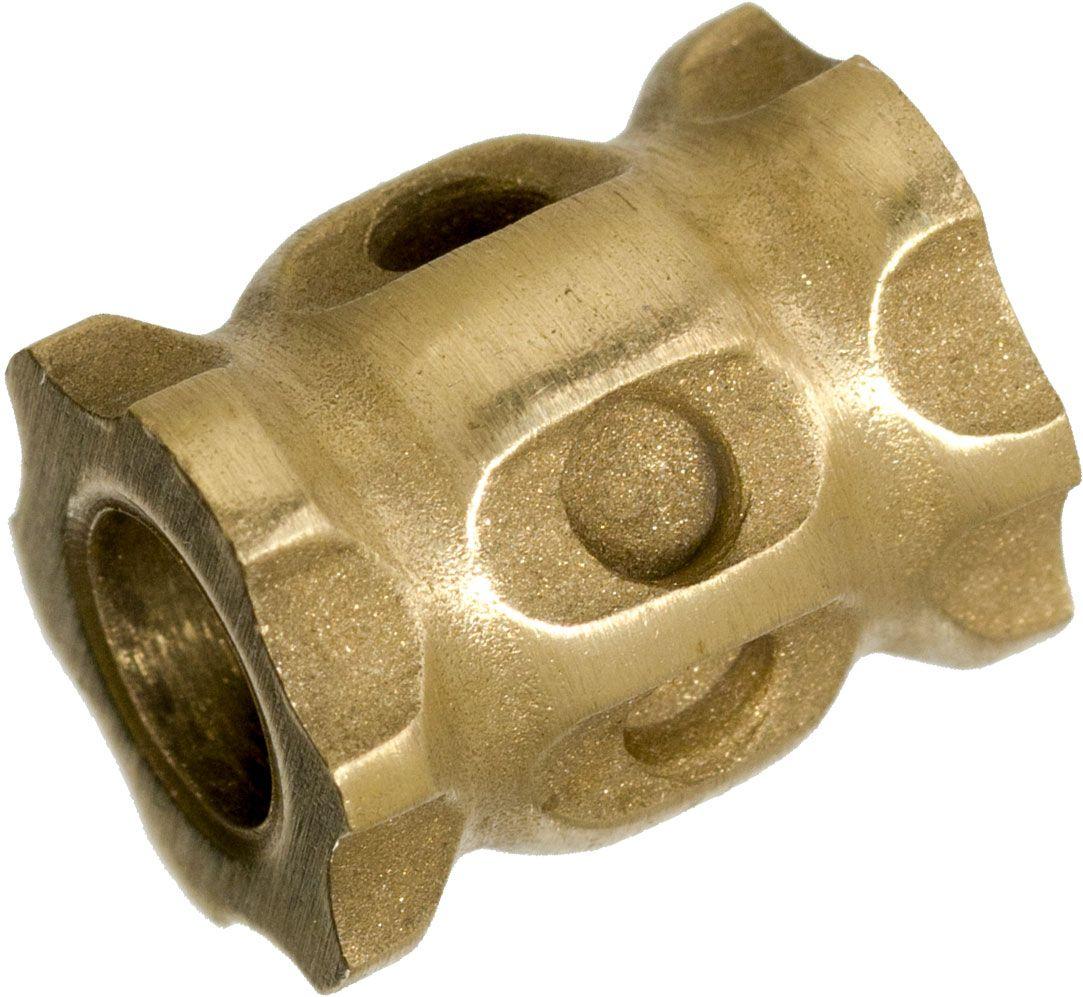 Darrel Ralph Designs Blasted Brass L1 Lanyard Bead