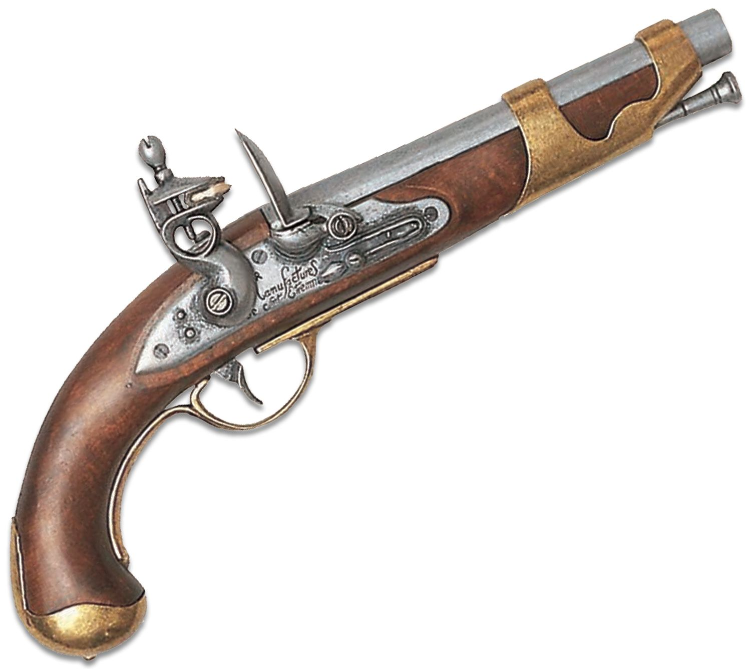 Denix Replica 1806 French Calvary Flintlock Pistol