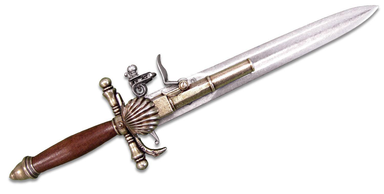 Denix Reproduction 18th Century French Dagger-Pistol