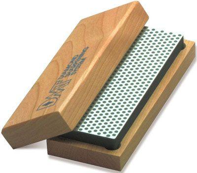 DMT W6X 6 inch Diamond Whetstone Extra Coarse with Hardwood Box