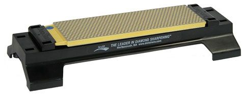 DMT W8EC-WB 8 inch DuoSharp Bench Stone with Base - Extra Fine / Coarse