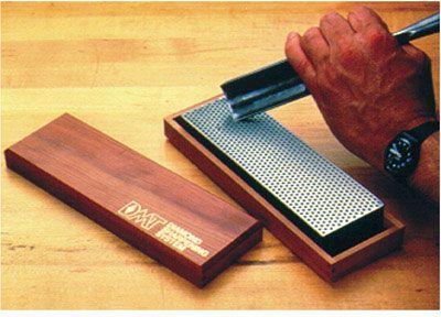 DMT W8X 8 inch Diamond Whetstone, Extra-Coarse with Hardwood Box