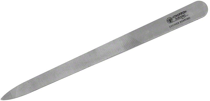 DOVO 405 606 Stainless Steel Nail File 6 inch