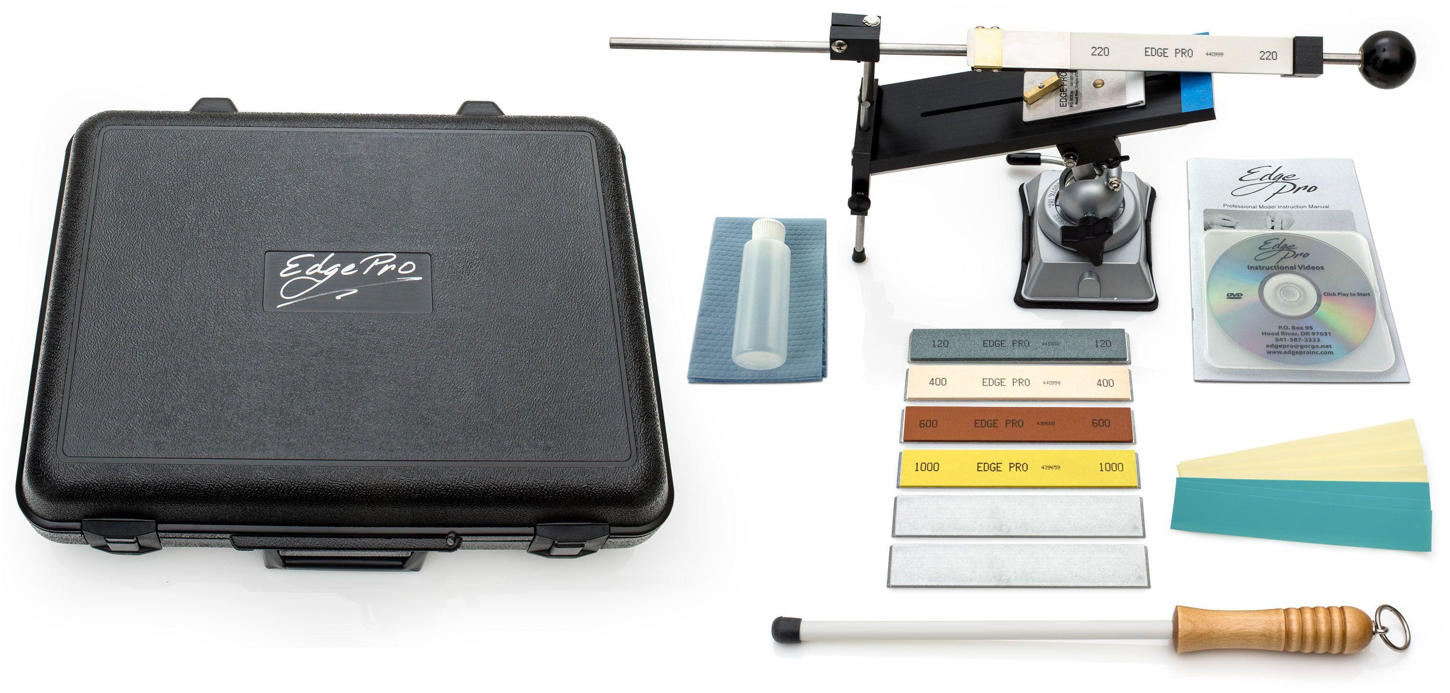 Edge Pro Professional 3 Knife Sharpening System