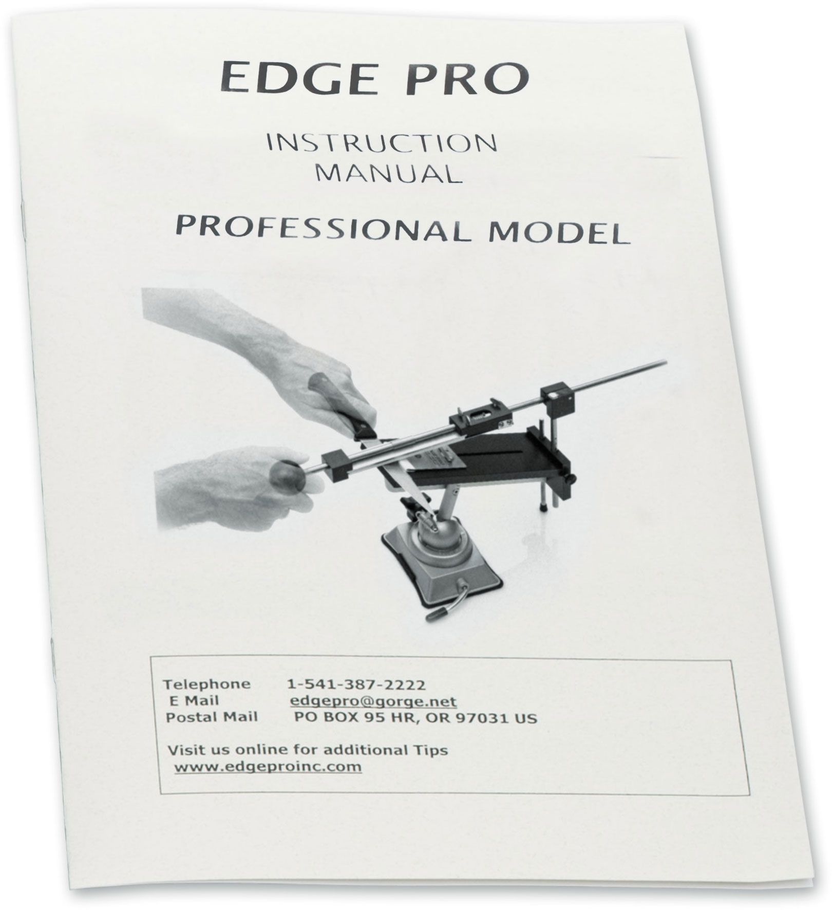 Edge Pro Professional Knife Sharpening System Manual
