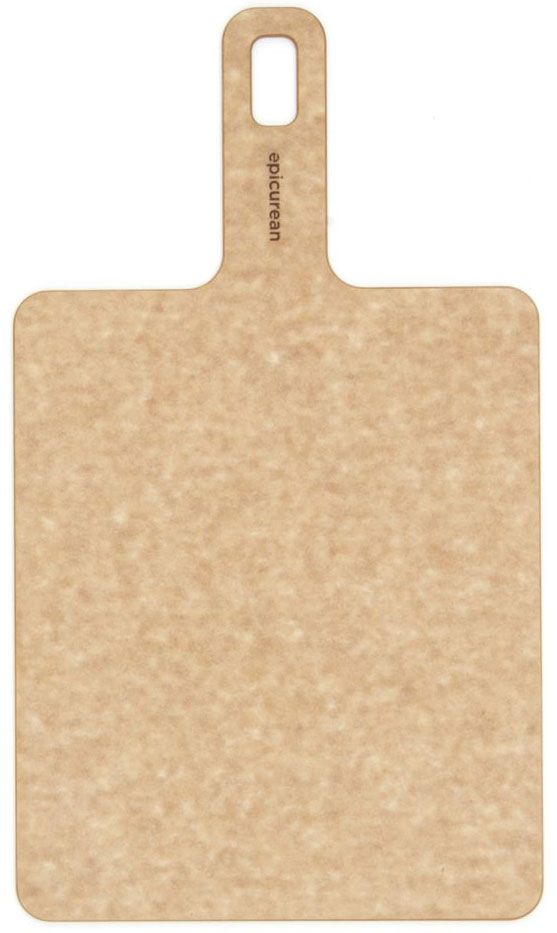 Epicurean Handy Board Wood Fiber Cutting/Serving Board, Natural, 9 inch x 7.5 inch