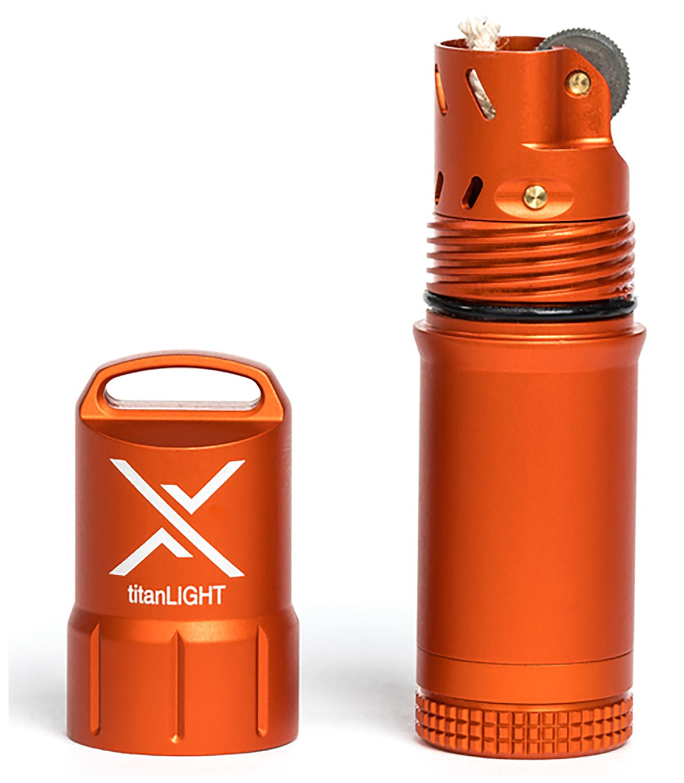 Exotac 5500 titanLIGHT Refillable Lighter, Waterproof, Orange