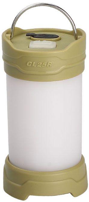 Fenix CL25R LED Rechargeable Lantern, Olive, 350 Max Lumens
