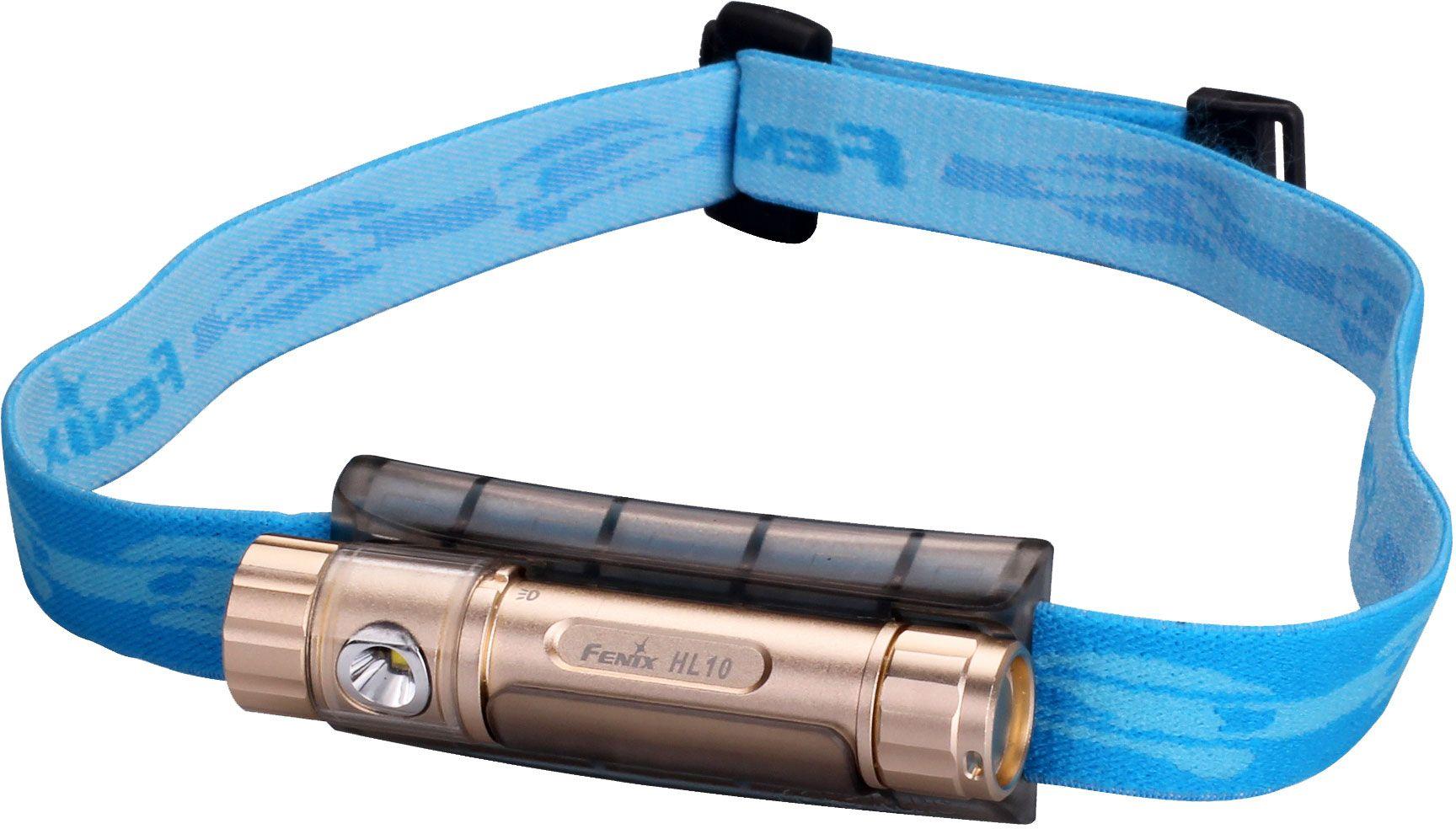 Fenix HL10 LED Headlamp, Gold, 70 Max Lumens