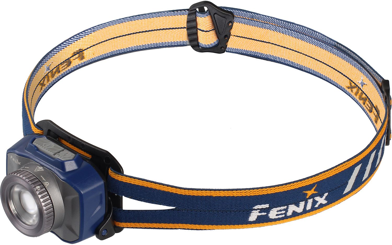 Fenix HL40R Focusable Rechargeable LED Headlamp, Blue, 600 Max Lumens