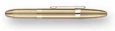 Fisher Lacquered Brass Bullet Space Pen with Gold Clip
