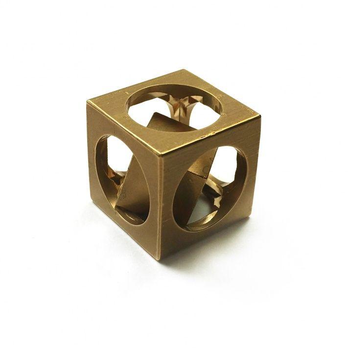 Flytanium Brass FlyCube
