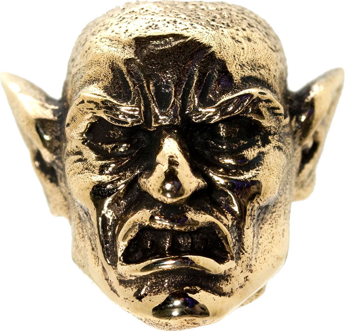 GD Skulls USA Bronze M3 Monsters of the World Elf Bead