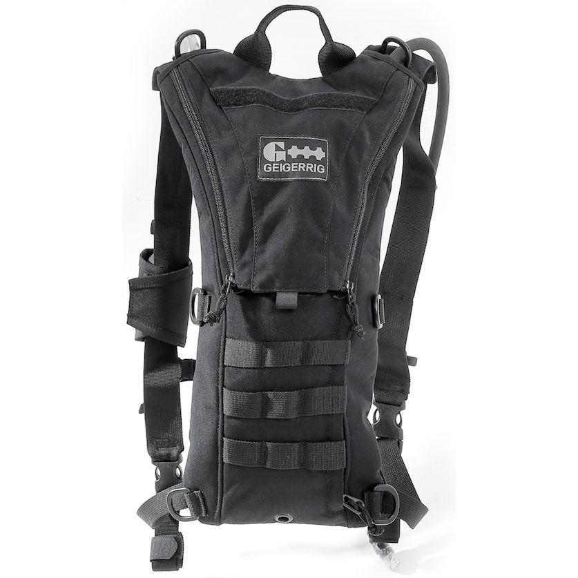 GEIGERRIG Tactical Rigger Hydration Pack, Black (G5RIGGERBK)