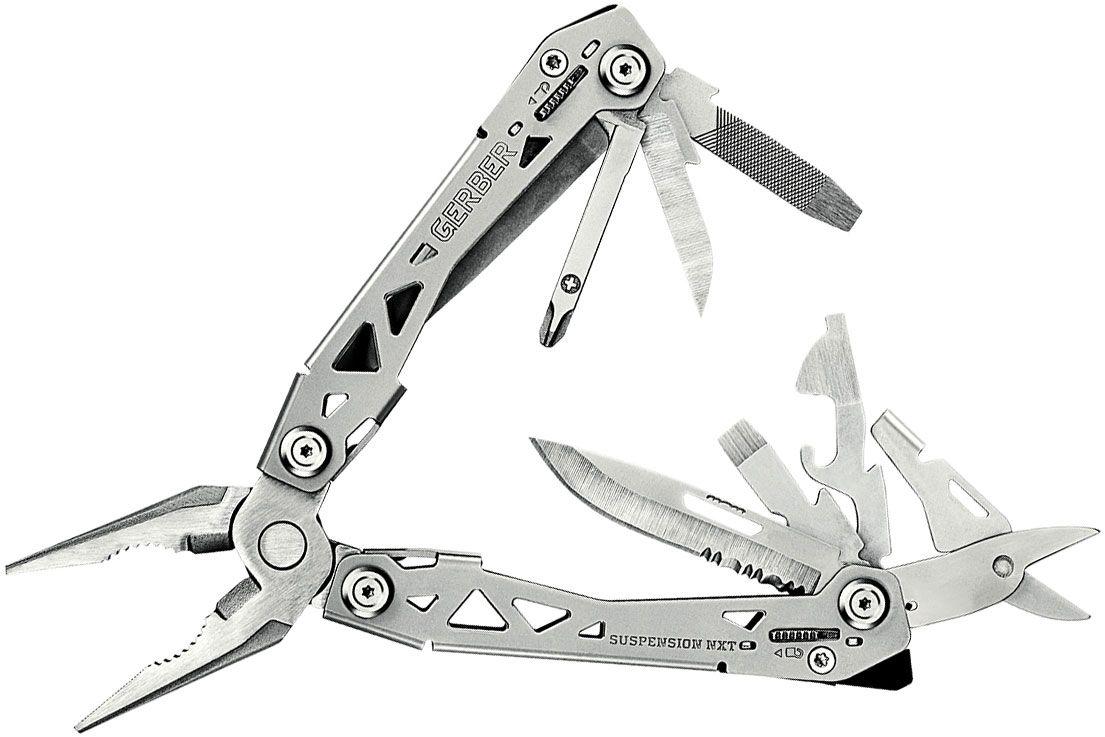 Gerber Suspension NXT Multi-Tool, Stainless Steel Handles