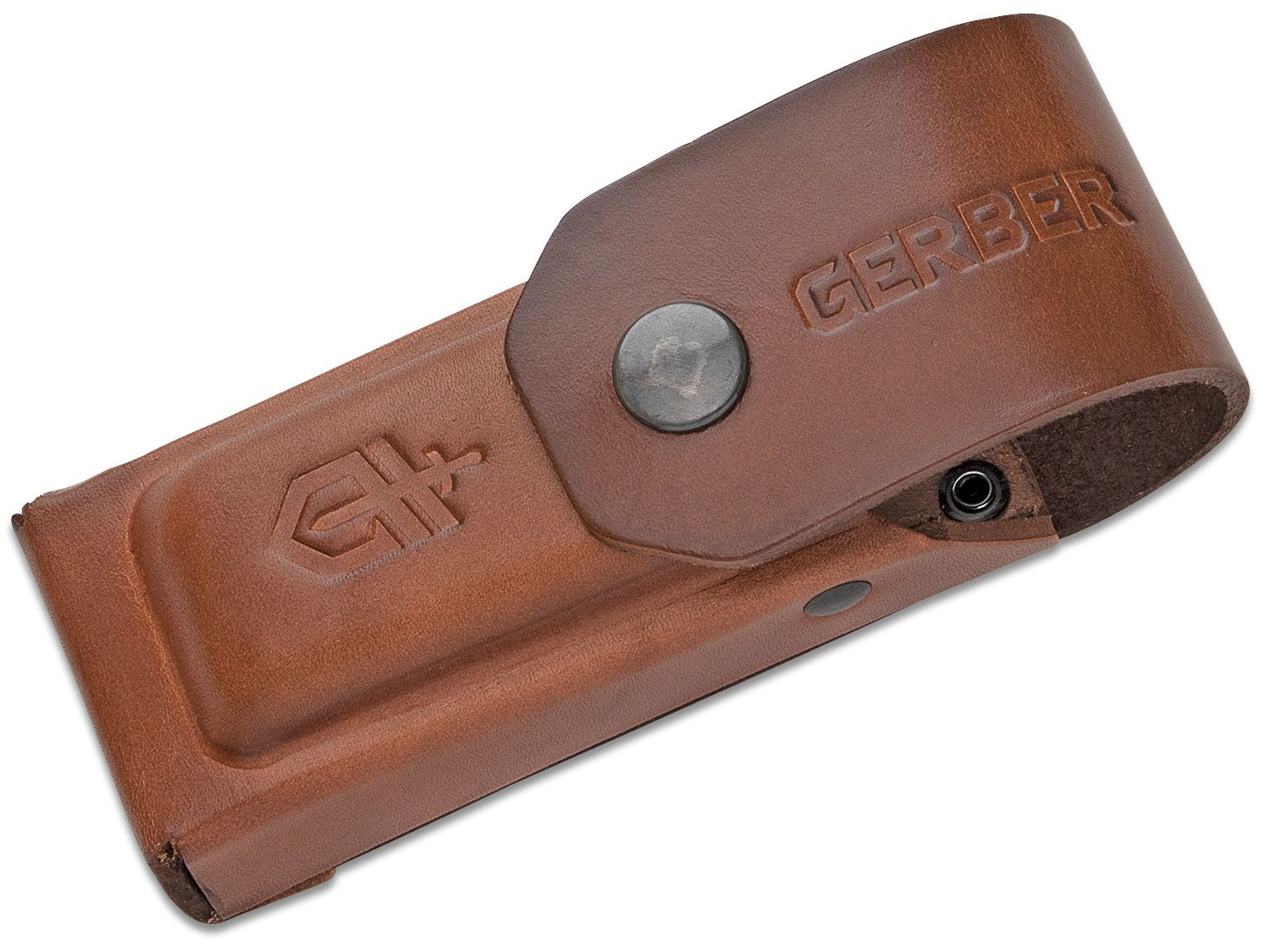 Gerber Center-Drive and MP600 Multi-Tool Brown Leather Sheath