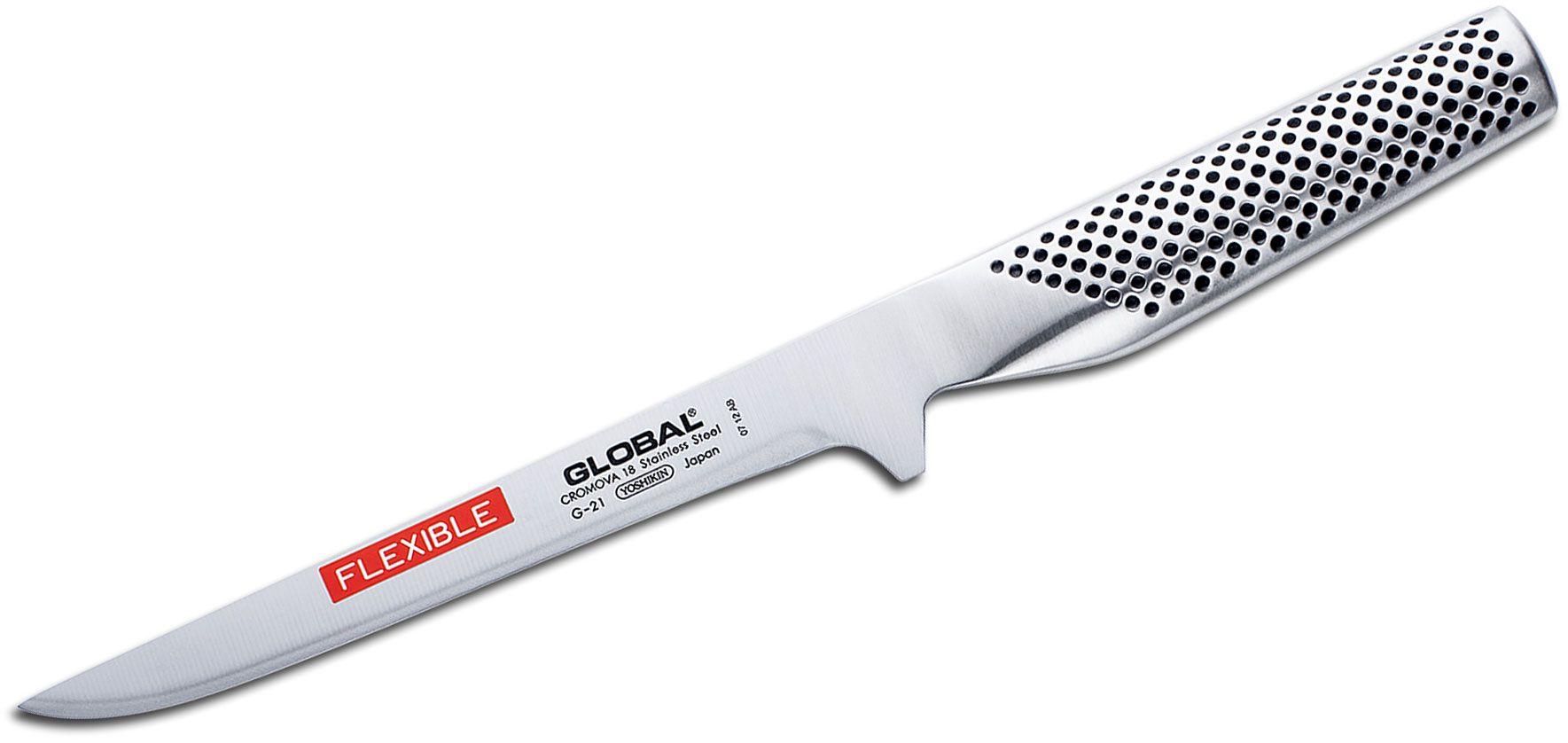Global G-21 Classic 6.25 inch Flexible Boning Knife