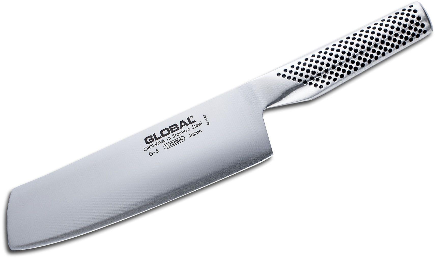 Global G-5 Classic 7 inch Vegetable/Nakiri Knife