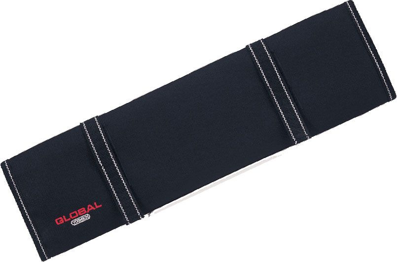 Global G-668/10 Chef's Soft Knife Case with 10 Pockets