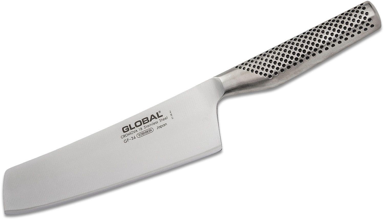 Global GF-36 Classic 8 inch Forged Vegetable/Nakiri Knife