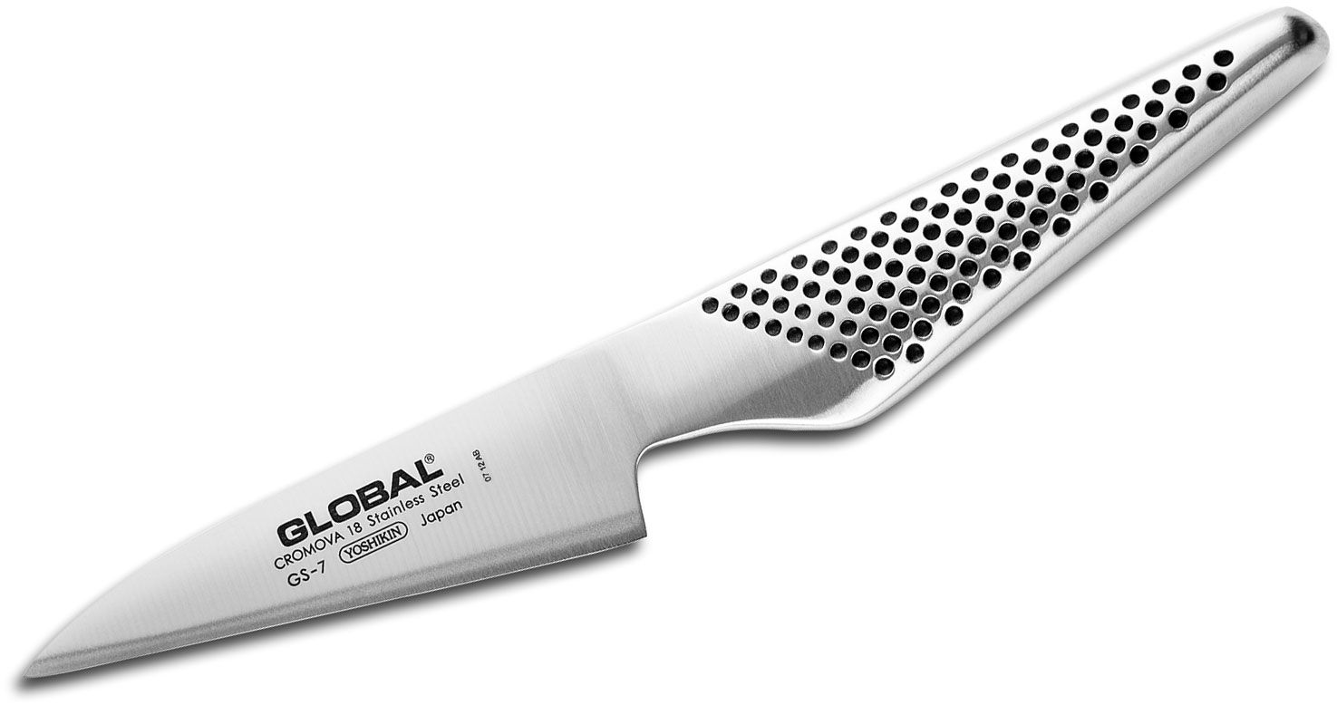 Global GS-7 Kitchen 4 inch Paring, Spear Knife