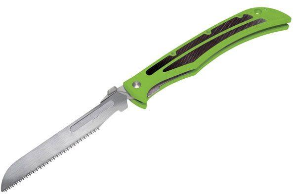 Havalon Baracuta Bone Saw 4-3/8 inch Blade, Shock Green Zytel Handles (XTI-115BZSW-GX)