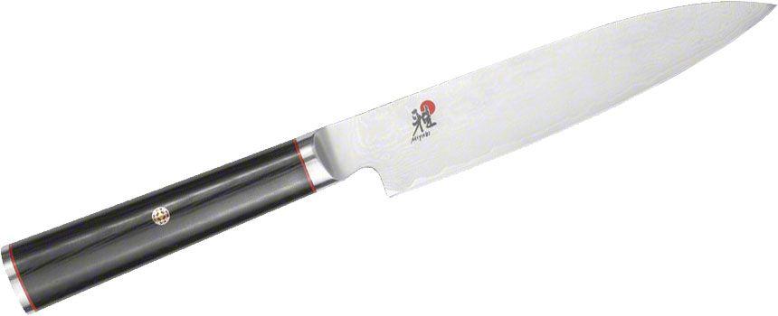Zwilling J.A. Henckels Miyabi Kaizen 6 inch Chutoh / Utility Knife, VG10 (CMV60) Damascus Blade, Micarta Handle