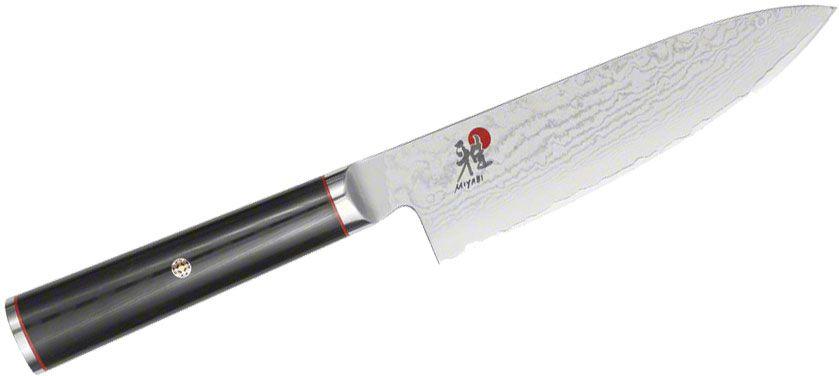 Zwilling J.A. Henckels Miyabi Kaizen 6 inch Chef's Knife, VG10 (CMV60) Damascus Blade, Micarta Handle
