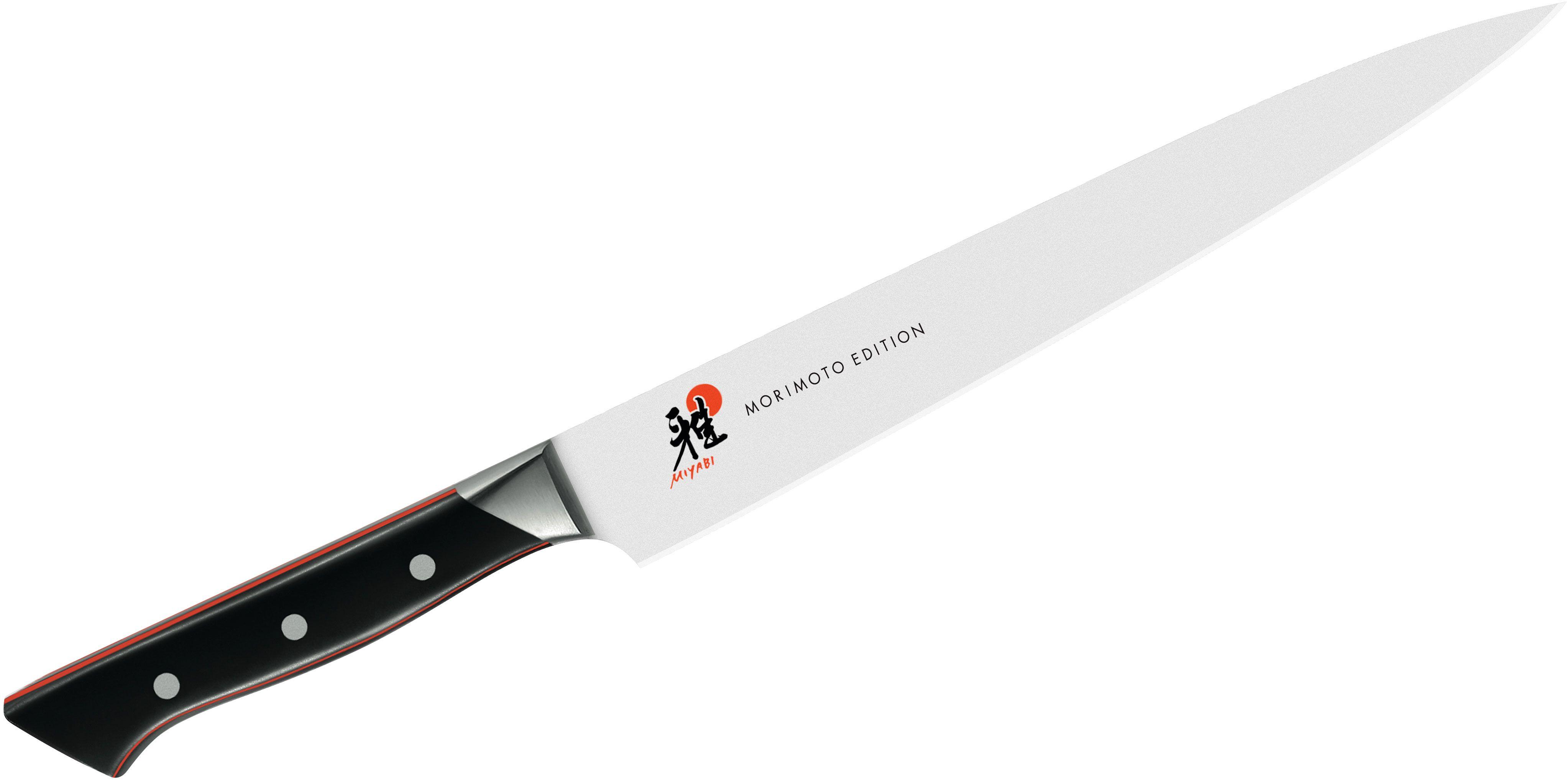 Zwilling J.A. Henckels Miyabi Red 600S Morimoto 9.5 inch Slicing Knife