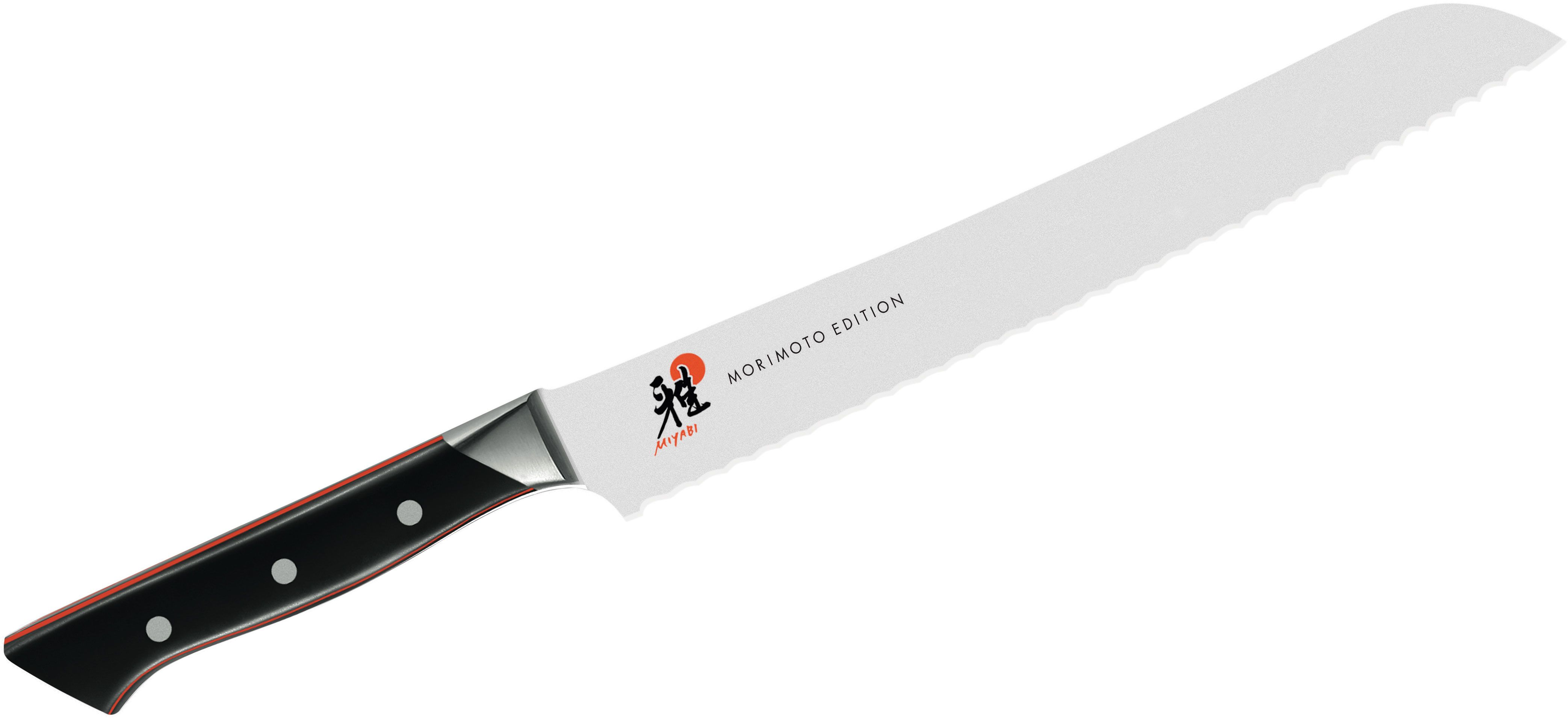 Zwilling J.A. Henckels Miyabi Red 600S Morimoto 9.5 inch Bread Knife