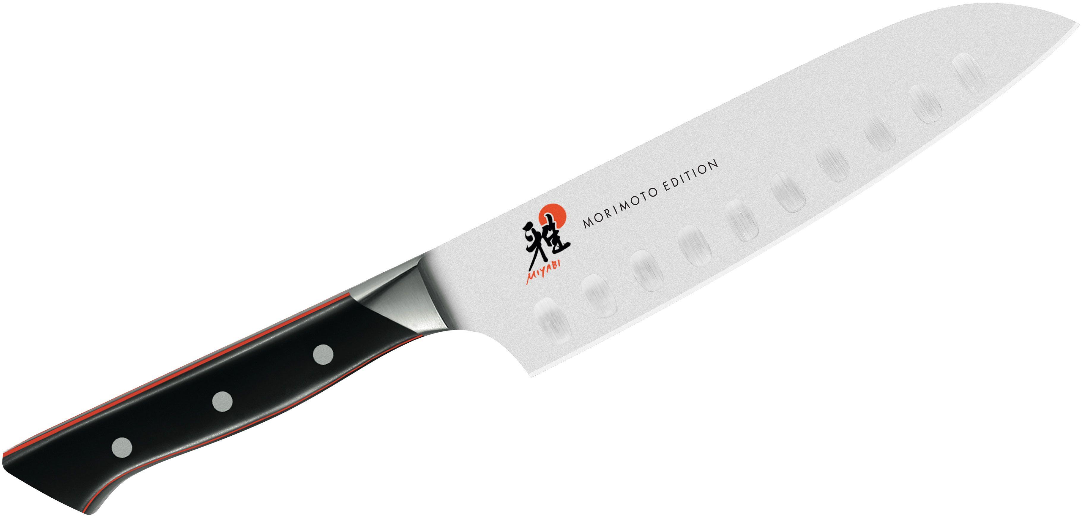 Zwilling J.A. Henckels Miyabi Red 600S Morimoto 7 inch Santoku Knife