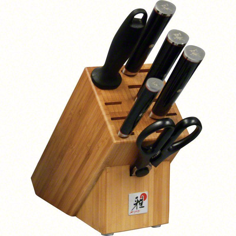 Zwilling J.A. Henckels Miyabi Kaizen 7 Piece Kitchen Block Set