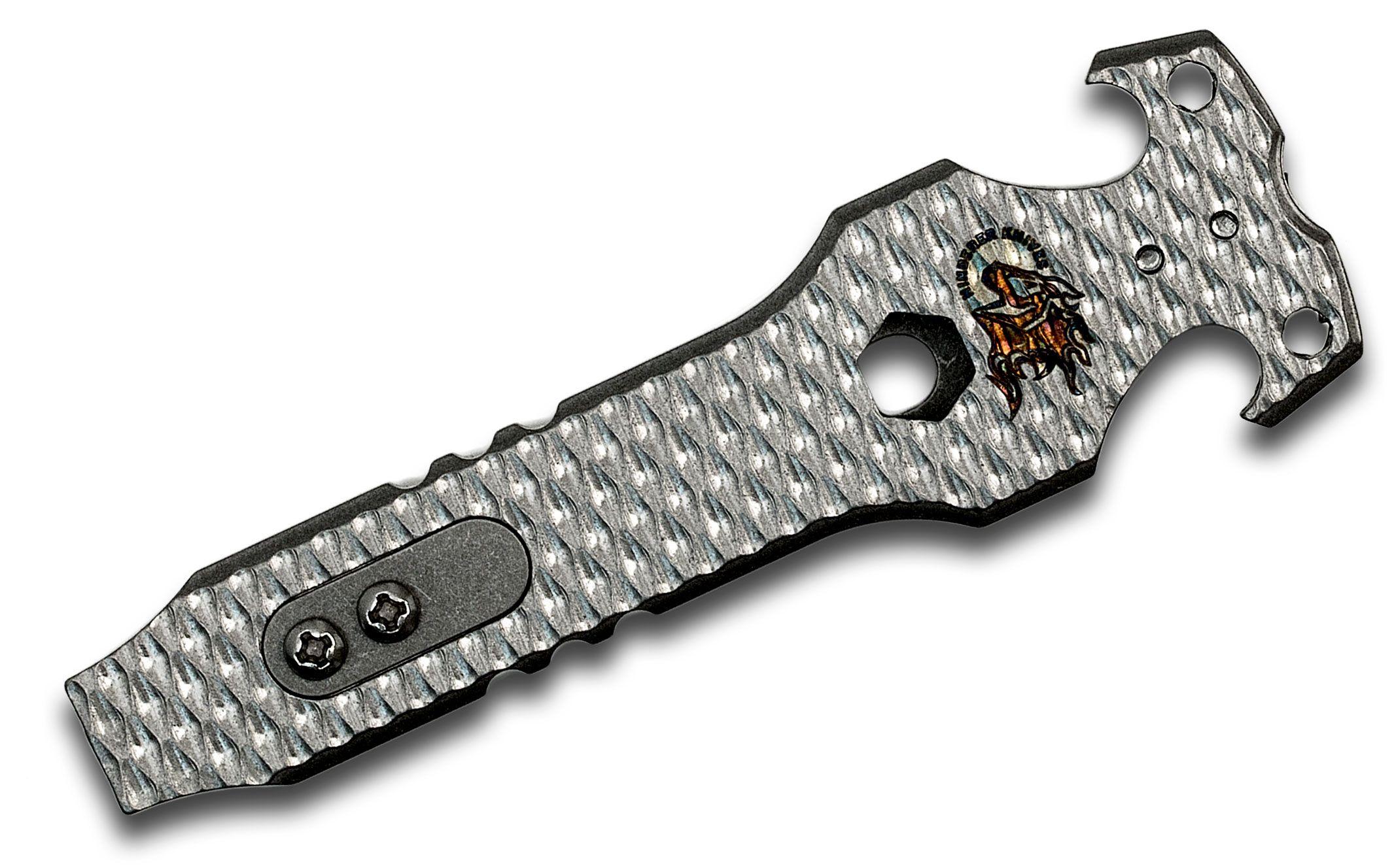 Rick Hinderer Knives Stonewashed Titanium HS-Tac Tool