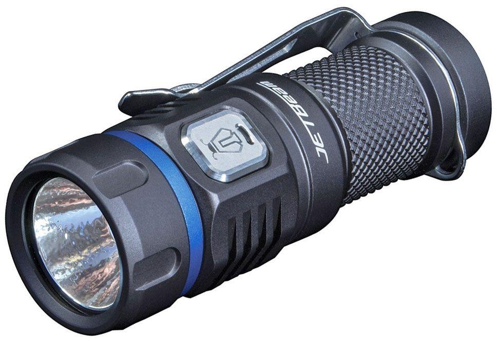 JETBeam E20R Rechargeable Aluminum LED Flashlight 1x16340, 990 Max Lumens