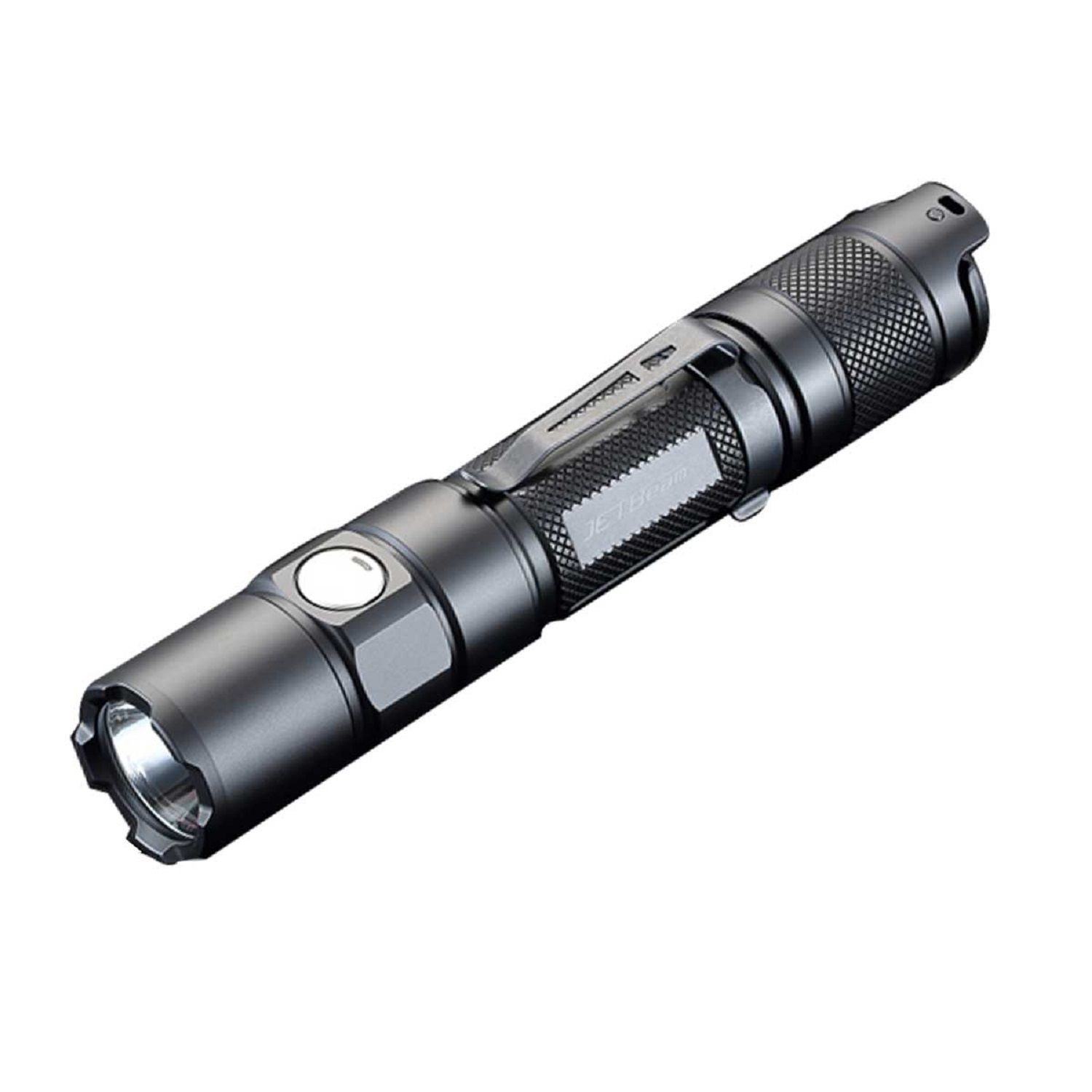 JETBeam TH15 Tactical Rechargeable LED Flashlight, 1300 Max Lumens