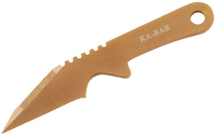 KA-BAR 3030 Besh BOGA Woman's Personal Self-Defense Knife 2-3/16 inch Blade, Stainless Steel Handle