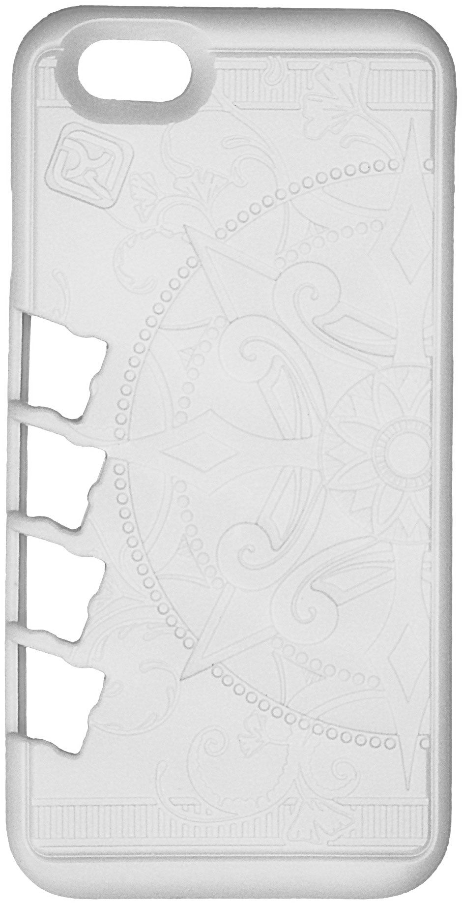 Klecker Stowaway Tool Carrier iPhone 6/6S Case, Organic, White