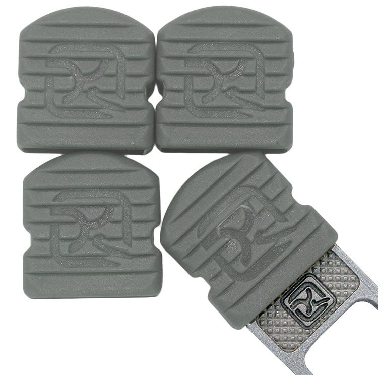 Klecker Stowaway Tool Caps, Dark Gray, Pack of 6