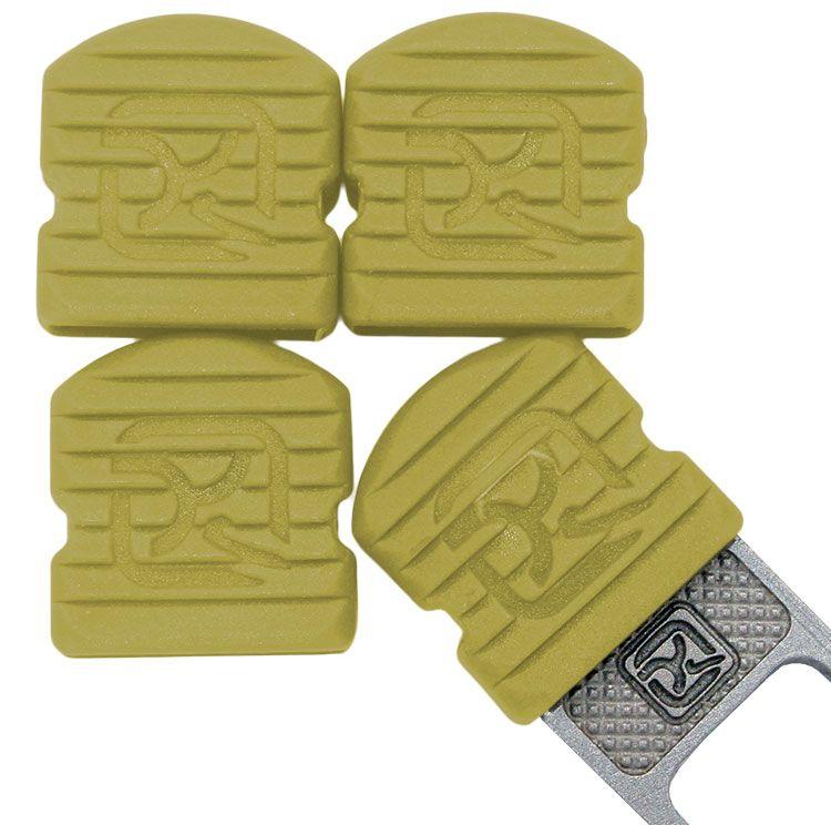 Klecker Stowaway Tool Caps, Mustard, Pack of 6