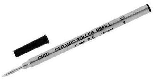 Kyocera Advanced Ceramics Ohto 0.7mm Ceramic Roller Refill, Black
