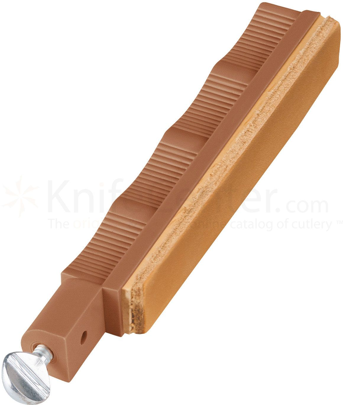 Lansky Leather Stropping Hone - Brown Holder