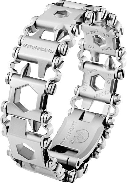 Leatherman Tread LT Bracelet Multi-Tool, Stainless