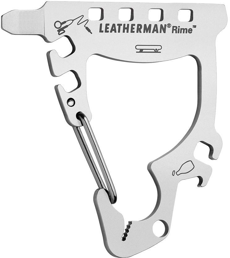 Leatherman Rime Keychain Size Mini Multi-Tool, Snowboarding PocketTool
