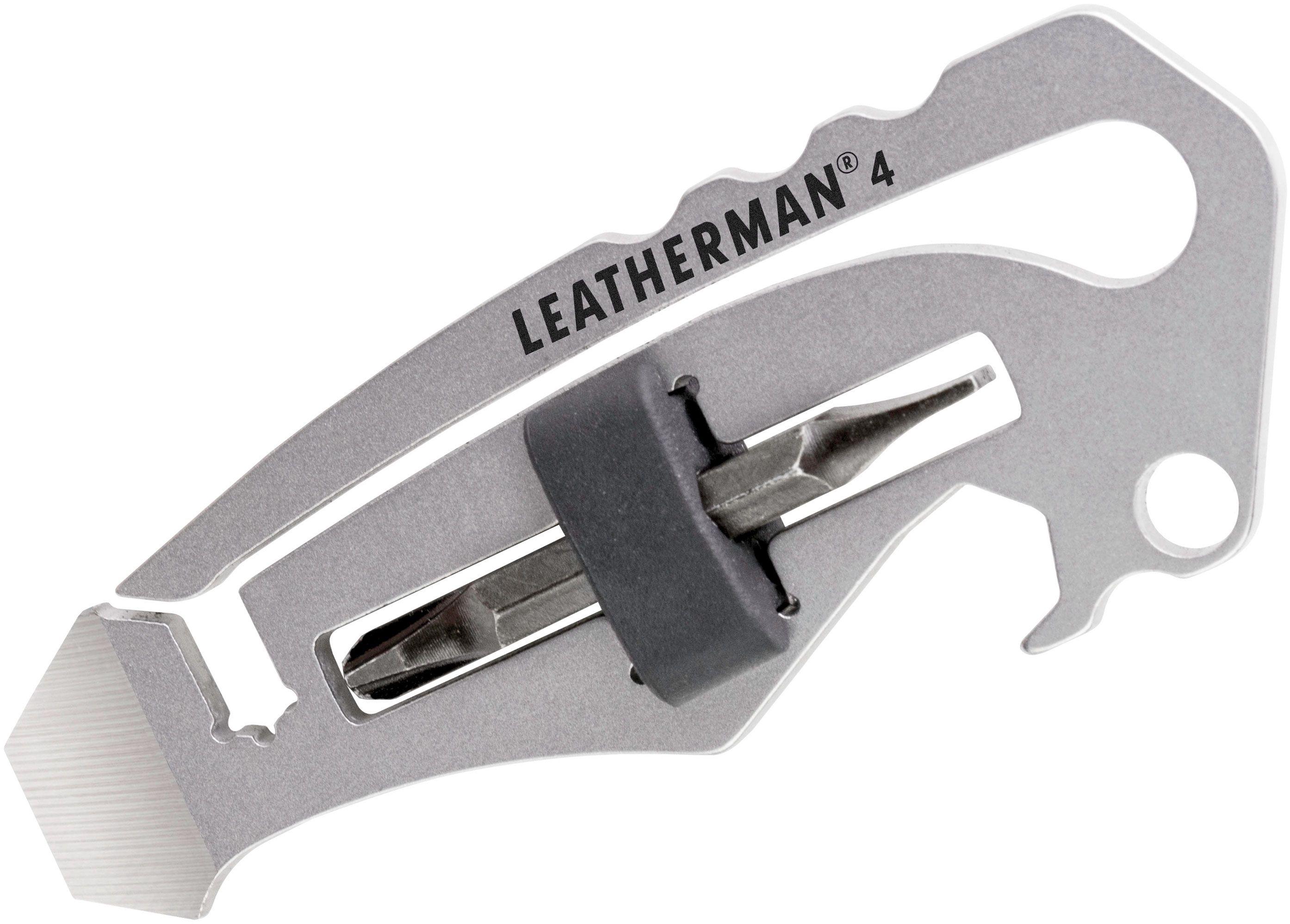 Leatherman Number 4 Keychain Size Mini Multi-Tool